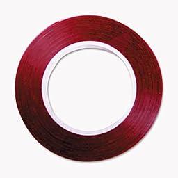 Art Tape, Red Gloss, 1/4\
