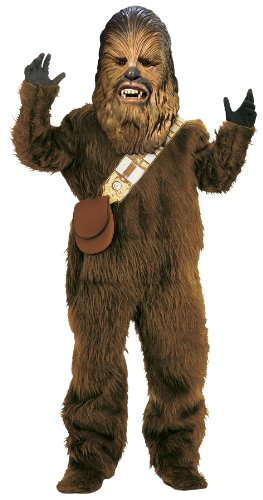 [Chewbacca Deluxe Child Costume (Large)] (Deluxe Chewbacca Costumes)