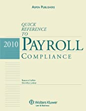 Quick Reference to Payroll Compliance by Joanne Mitchell-George