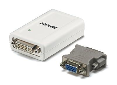 BUFFALO USB2.0用 ディスプレイ増設アダプター GX-DVI/U2B