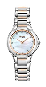 Citizen Women's EX1186-55D The Signature Collection Eco-Drive Fiore Watch