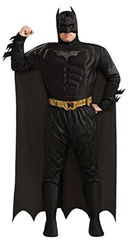 Batman DC Comics The Dark Knight Rises Muscle Chest Deluxe Adult Plus Costume