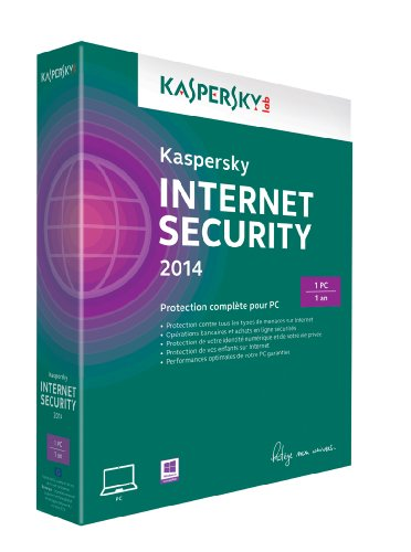 Kaspersky internet security 2014 (1 poste, 1 an)