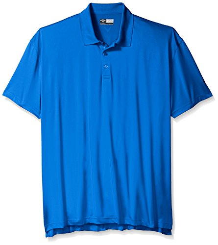 Callaway men 39 s big tall golf performance solid short for Large tall golf shirts