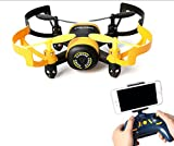 FUNS Mini RC Helicopter Drone 2.4Gh