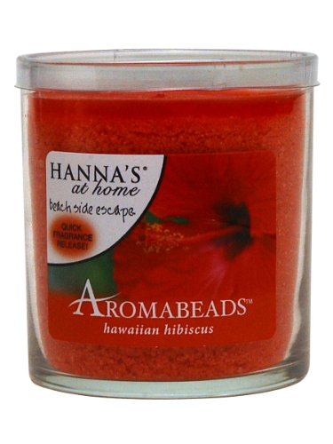 Hanna's At Home AROMABEADS Hawaiian Hibiscus 5.5oz Candle