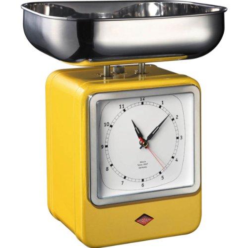 Wesco 322 204-19 Balance de cuisine (Jaune citron)