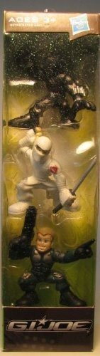 "G.I. Joe Combat Heroes Stocking Stuffers 3-Pack Snake Eyes, Storm Shadow & Conrad ""Duke"" Hauser"