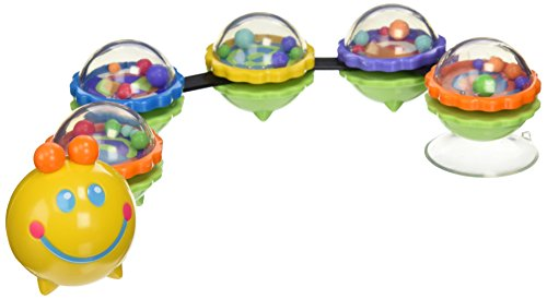 Stephan Baby Suction Cup Caterpillar Wiggle Toy for High Chairs and Strollers - 1