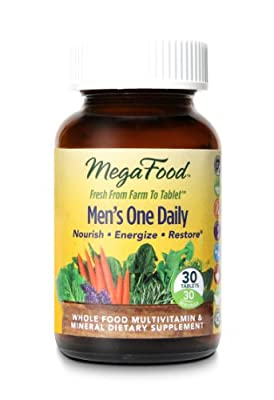 MegaFood - DailyFoods Men's One Daily Iron Free