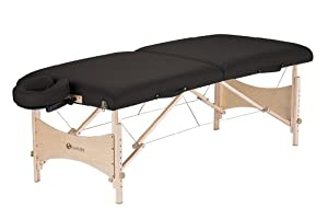 Earthlite Harmony DX Portable Massage Table Package (Black)