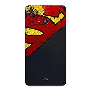 Uper Multicolor Print Back Case Cover for Lumia 540