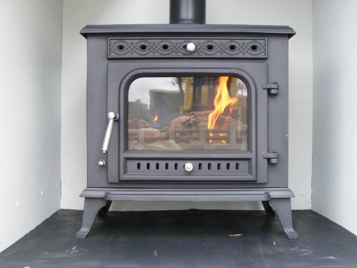 FIREGLOW 31 CAST IRON WOODBURNING MULTIFUEL STOVE 12kW HIGH EFFICIENCY