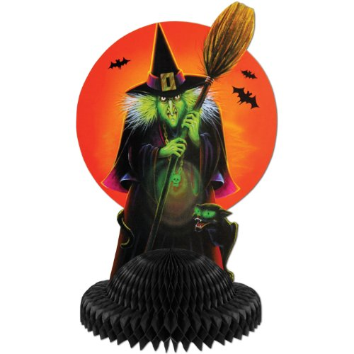 Witch Honeycomb Centerpiece (1 per package)