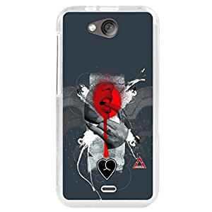 A And B Printed Mobile Back Case Cover For Micromax Canvas Play - Q355