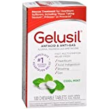 Gelusil Heartburn Tablets Peppermint 100 Chewable Tablets