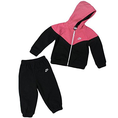 Nike - Tuta per neonato, nero (Rosa/Nero), 18/24 mesi