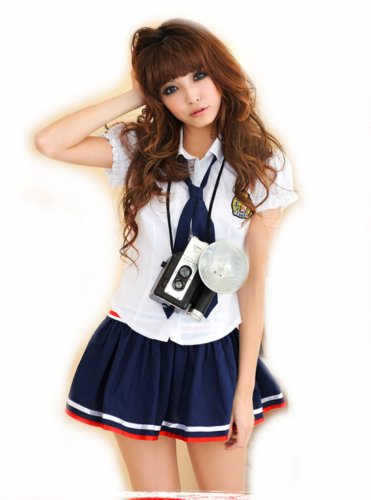 Lingeriecats Sexy School Girl Study and Love Costume Cosplay