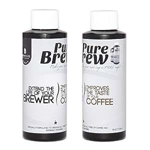 Keurig Coffee Maker Descaling Solution : Amazon.com - Brewooze - Purebrew Descaling Solution for Keurig 2.0 & 1.0 Brewers, Single serve ...