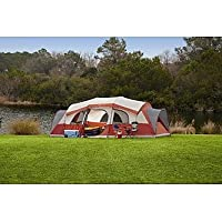 Northwest Territory The Homestead 21' x 14' Tent (Red & White) + $11 Kmart Credit