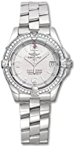 Breitling Aeromarine Colt Oceane Diamond Steel Ladies Watch A7738053-G600SS
