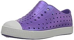Native Jefferson Child Slip-On (Toddler/Little Kid),Techno Purple Iridescence,10 M US Toddler