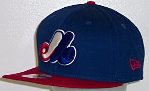 Montreal Expos New Era 9Fifty Snapback Cap 2 Tone Adjustable Hat by New Era