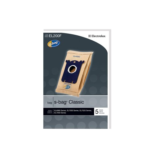 Electrolux EL200F S-Bag Classic Vacuum Bag, Set of 5 (Vacuum Bags S Bags compare prices)