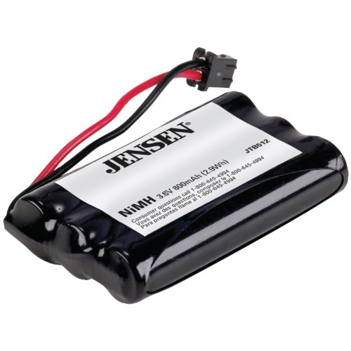 Jensen Jtb512 Cordless Phone Battery For At&T, Cobra, Panasonic, Sharp, Sony, Toshiba, Uniden front-312349