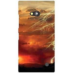 Nokia Lumia 730 Back Cover - Abstract Designer Cases