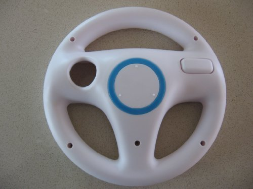 Racing Steering Driving Wheel for Nintendo Wii Nascar Kart Cart Racing Video ... (Wii Nascar Steering Wheel compare prices)