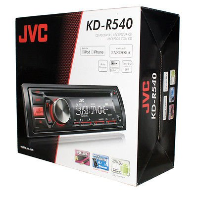New Jvc Car Audio Stereo Receiver Cd/Mp3 Player Pandora/Ipod/Usb/Iphone/Aux-In