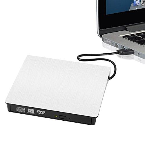 Externes-DVD-Laufwerk-Yokkao-USB-30-Externer-DVD-Brenner-Optisches-Laufwerk-Lesegert-CD-Brenner-fr-PC-Laptop-oder-Desktop-SonyToshiba-AcerAsusHPDelIBM-MacbookMacbook-ProNotebook-Wei