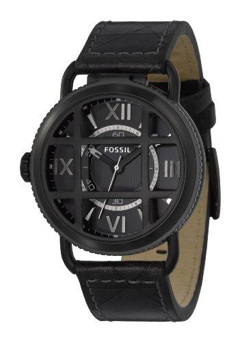 FOSSIL (フォッシル) 腕時計 DRESS FOSSIL 25周年記念復刻モデル Paratrooper パラトルーパー ブラックダイアル FS4474 メンズ [正規輸入品]