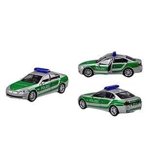 Fahrzeuge Spielzeug Fertigmodell Modellauto 1:36 BMW 535i Polizei Modellauto