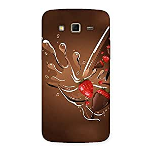 Straberry And Chocolates Multicolor Back Case Cover for Samsung Galaxy Grand 2