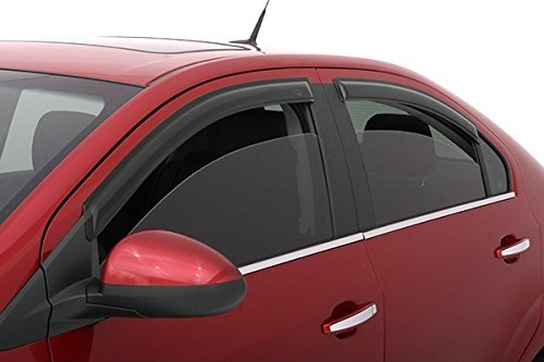 Ford Five Hundred 2005-2007 AVS Smoked Stick On Rain guards Window Visors 4PCS (2006 Ford 500 Accessories compare prices)