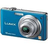Panasonic デジタルカメラ LUMIX (ルミックス) FS7 ブルー DMC-FS7-A