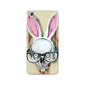 Mobicture Skull Premium Designer Mobile Back Case Cover For Lava Pixel V1