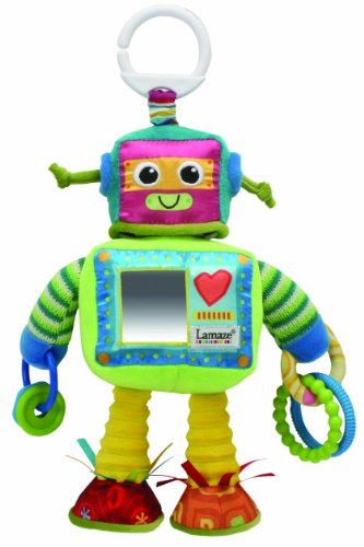Lamaze Play & Grow Rusty el Robot Take A lo largo de juguete