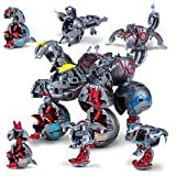 Bakugan Maxus Helios (7 Figures Combined Into 1)