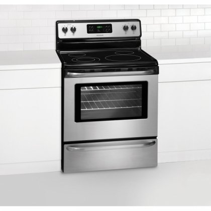 Frigidaire FFEF3048LS, 30 Inch Electric Distance, Stainless Steel