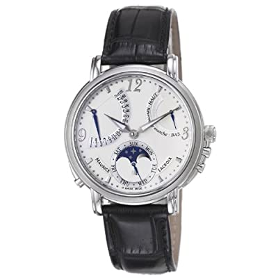 Maurice Lacroix Men's MP7078-SS001120 Master Piece Silver Power Reserve Dial Watch by Maurice Lacroix