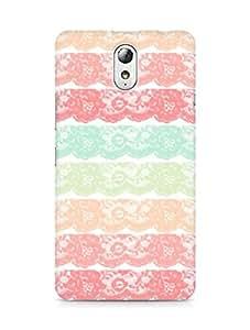Amez designer printed 3d premium high quality back case cover forLenovo Vibe P1M (lace )