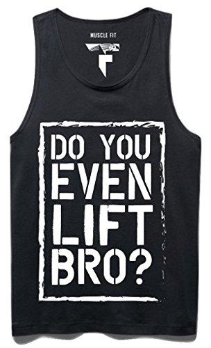 DashX Do You Even Lift Sleeveless Mens T-Shirt Tank Top Cotton Sando, Small (Do You Even Lift Tank Top compare prices)