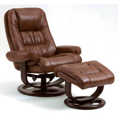 Beau Lane Furniture 18534 Andre Leather Essentials Ergonomic Recliner Leather:  Brown Review