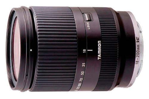 Tamron 18-200mm VC Di III for Sony NEX - Black
