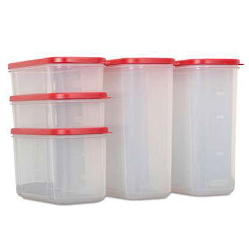 Rubbermaid Modular 10 Piece Canister Set