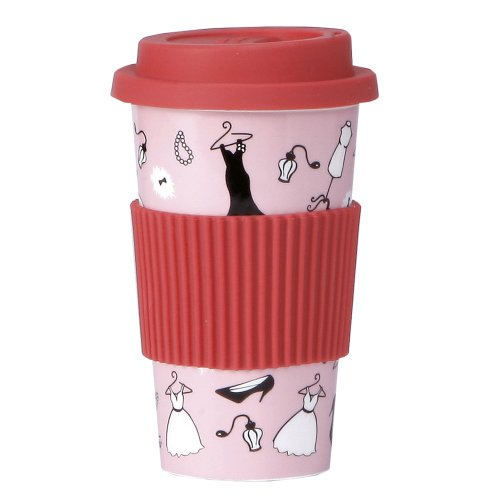 Lolita By Cr Gibson Porcelain To Go Cup, Glamour