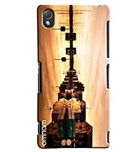 Omnam City Of River Side Printed Designer Back Cover Case For Sony Xperia Z3